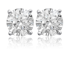 3/4 Ct Diamond Studs
