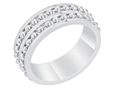 Chain Inset Ring