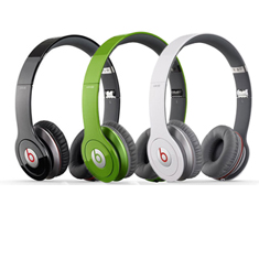 Beats by Dr. Dre Solo HD Headphones w/ Detachable Cable & Mic/Remote Control - 8 Color Choices! (Refurbished)
