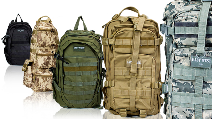 East West Tactical Gear Backpack or Sling Bag in Choice of Colors!