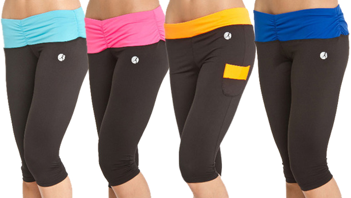 gym capri pants - Pi Pants