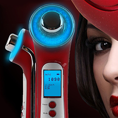 Clear Light Therapy Device for Skin Care