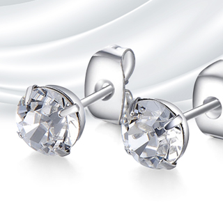 2 Carat Mestige Stud Earrings