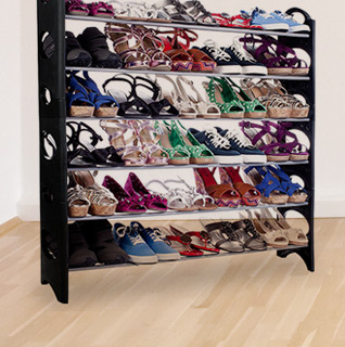 Six-Tier Shoe Rack