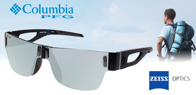 Columbia Zeiss Sports Optics Polarized Performance Fishing Gear Wahoo Men's Sunglasses w/ 100% UV Protection!