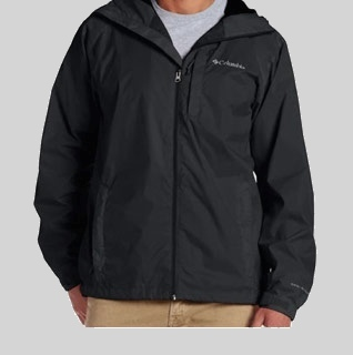 Columbia Men's Straight Line Rain Jacket!