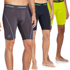 HEAD Men's Compression Shorts