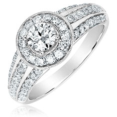 1 Ctw Engagement Ring