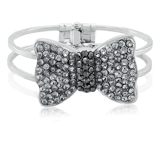 Fashion Studded Bow Bracelet