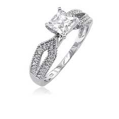 1/2 Ct. Inspired Diamond Ring