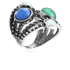 Fashion Silver Tone Ring
