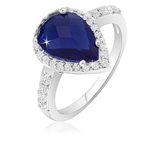 2.50 Ct Sapphire Ring
