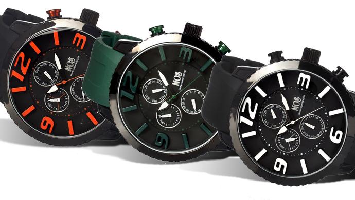 Mos Milan Silicone Strap Men's Watch