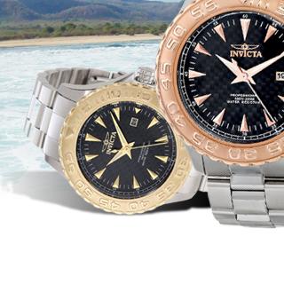 Invicta Two-Tone Quartz Men's Watch