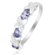 1/2 Ct Tanzanite Ring