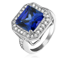 8 Ct Sapphire Ring