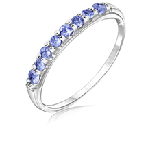 1/4 Ct Tanzanite Band