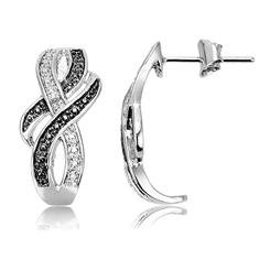 Braided Design Earrings