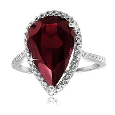 6 Ct Garnet Ring