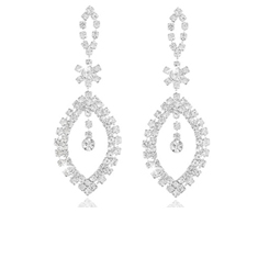 12pk:2 Ct Chandelier Earrings