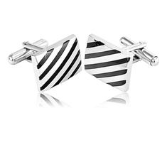 Striped Cufflinks
