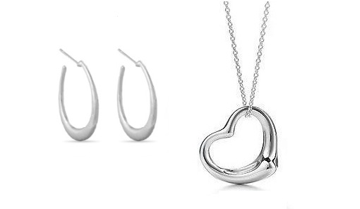 Heart Pendant or Earrings