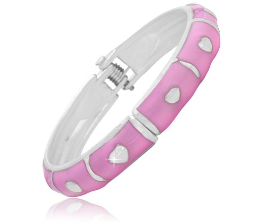Pink Baby Bangle