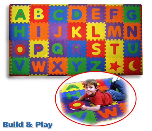Classy Couponing: Build & Play Alphabet Play Mat With 28