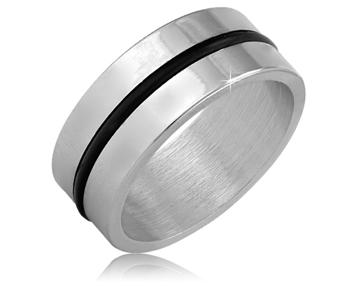 Rubber Striped Ring