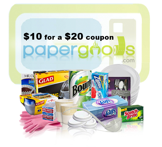 Paper Goods Coupon