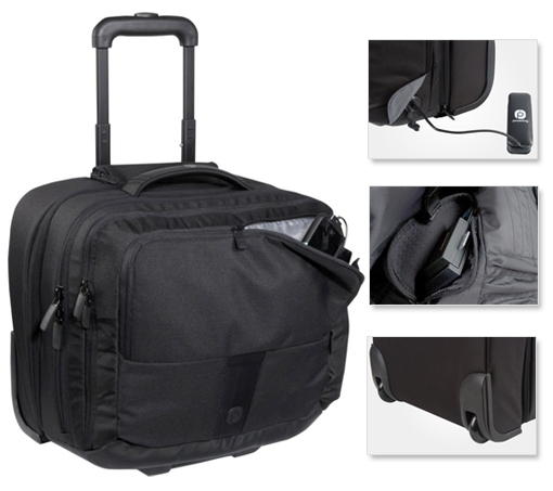 Powerbag Rolling Briefcase