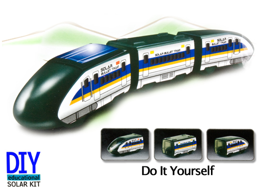 Solar Train Set