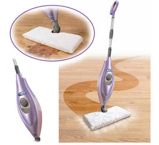 Shark Deluxe Steam-Pocket Mop w/ 180-Degree Swivel Steering, Adjustable Telescopic Handle & Carpet Glider at Sears.com