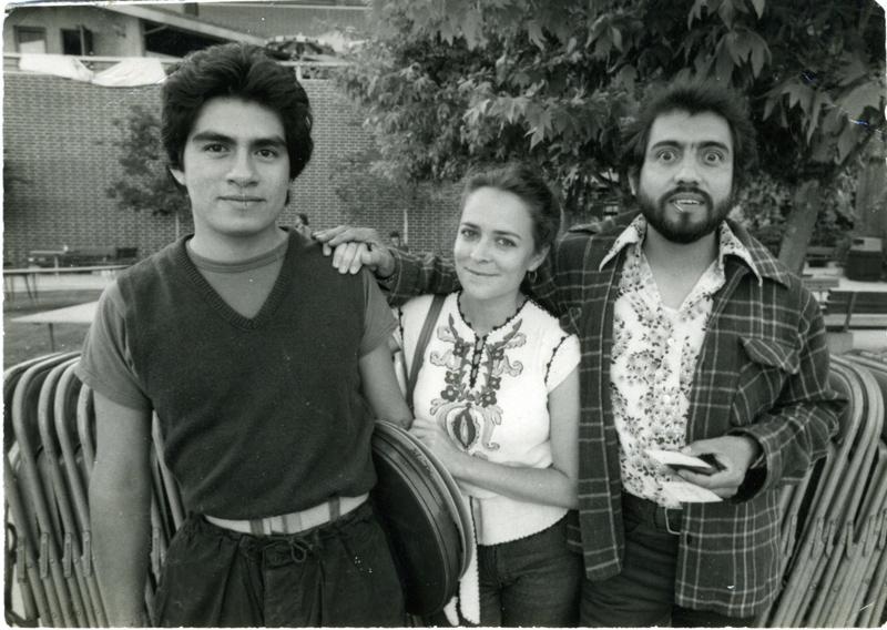 (L-R) Richard Duardo, Barbara Carasco and Carlos Almaraz.