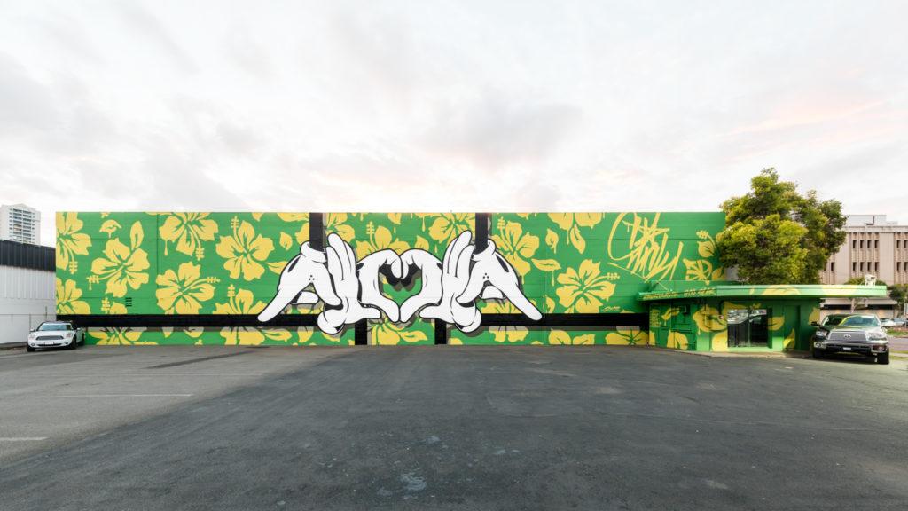 See 30 Murals At Pow Wow Hawaii 2017