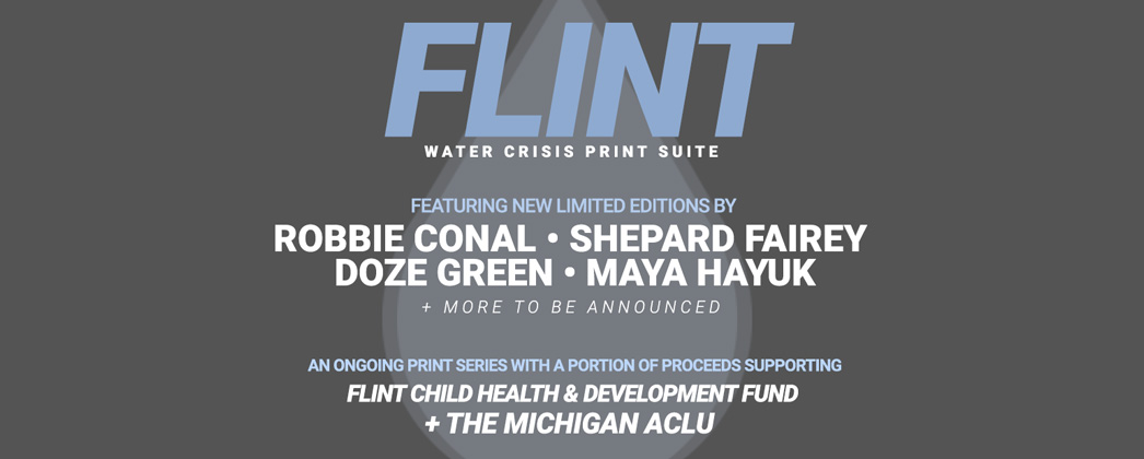 1xRUN Flint Water Crisis Print Suite