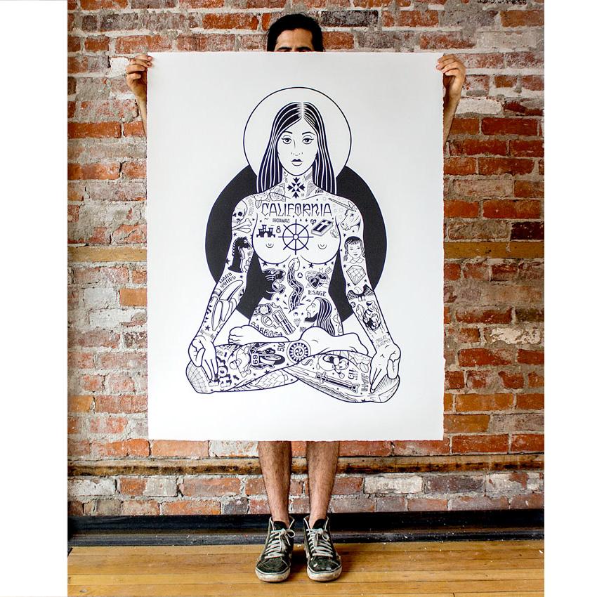 yogini-oversized-print-2