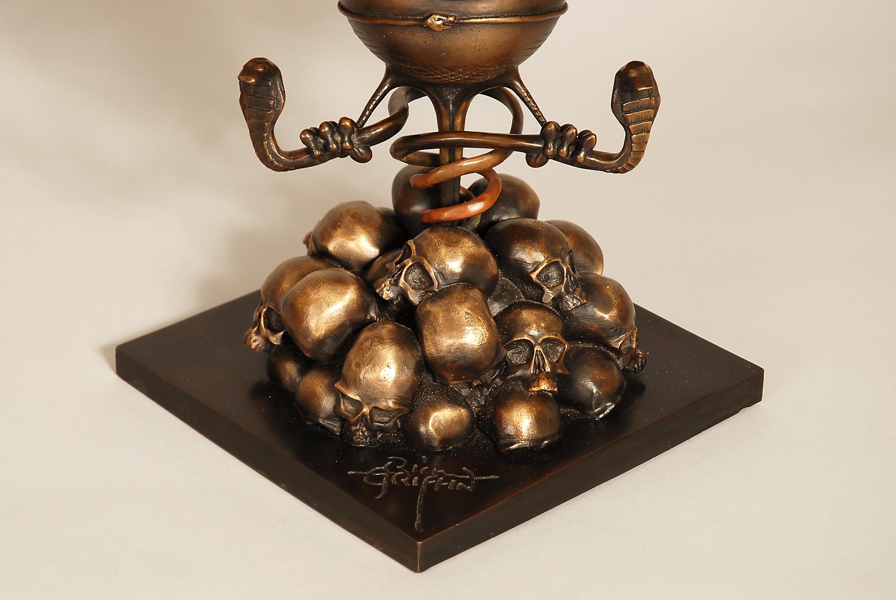 RG bronze base