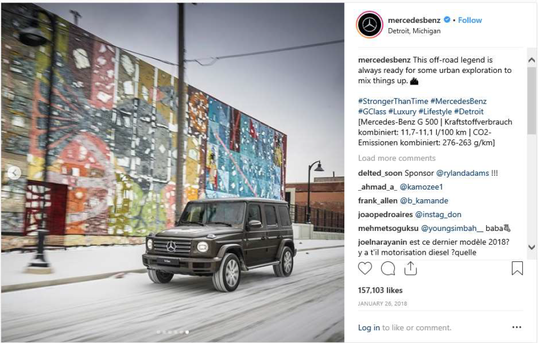 Detroit artists Denial, James 'Dabls' Lewis, Jeff Soto, Maxx Gramajo are suing the luxury car company for featuring their artwork in a promotional Instagram post without their permission,