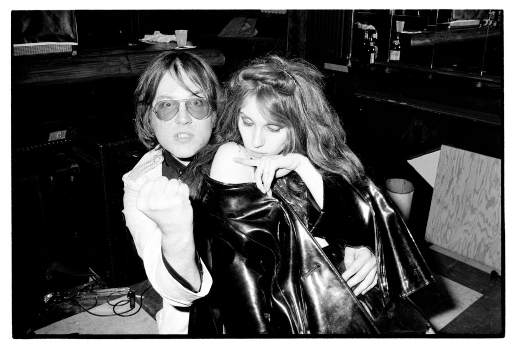 Ron Asheton and Niagara of Destroy All Monsters Bookies Detroit May 25, 1979