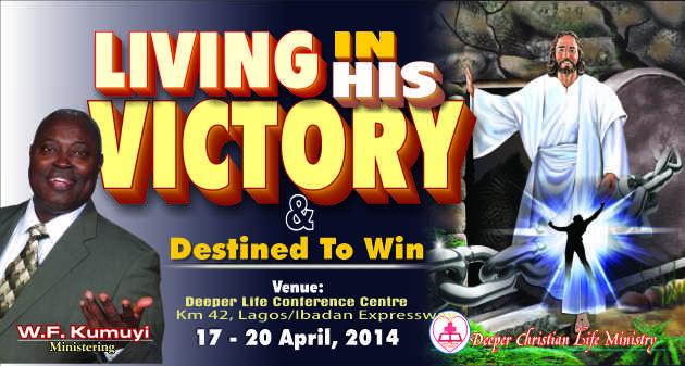 Living in His Victory & Destined to Win