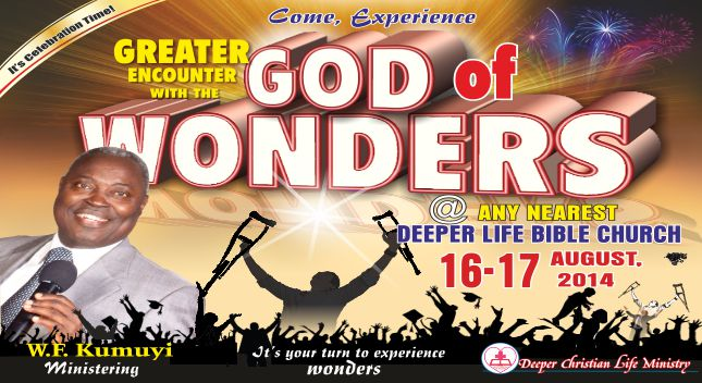 Greater Encounter with the God of Wonder