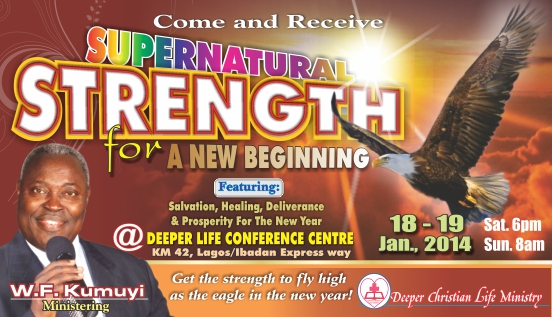 Supernatural Strength For a New Beginning