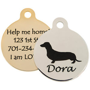 dogIDs Signature Dog Breed ID Tags