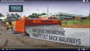 Interlocking Pavers Machine
