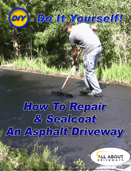 Learn how to repair and seal an asphalt driveway yourself
