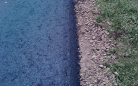 The edges of a new asphalt driveway are important for a strong, durable asphalt driveway
