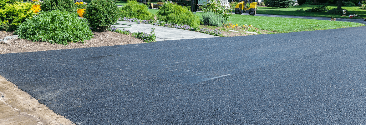 Caring and maintenance of a new asphalt driveway
