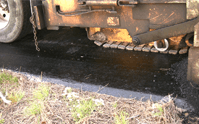 There are standards for thickness for an asphalt overlay or asphalt cap