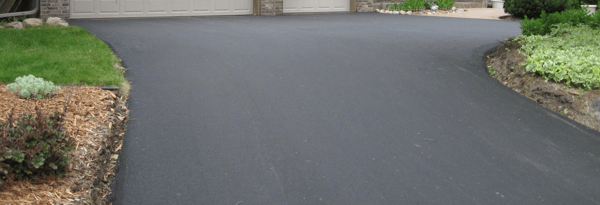 Taking care of a new asphalt driveway